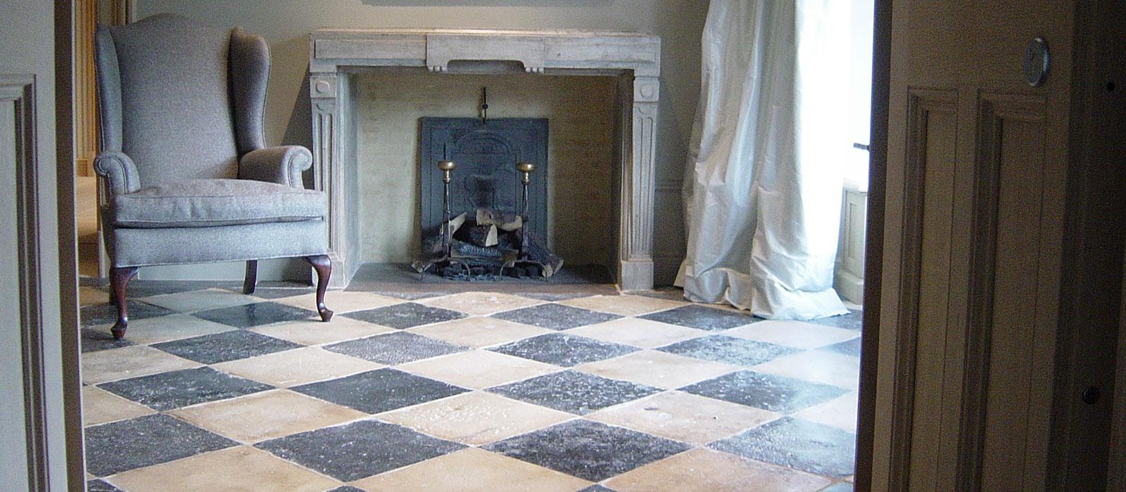 Van beveren exclusieve vloeren en meer - Lino imitatie oude tegel ...